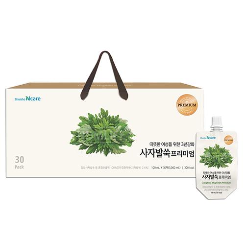 [천호식품] 따뜻한 여성을 위한 3년강화 사자발쑥프리미엄 100ml*30개입 (업체별도 무료배송)
