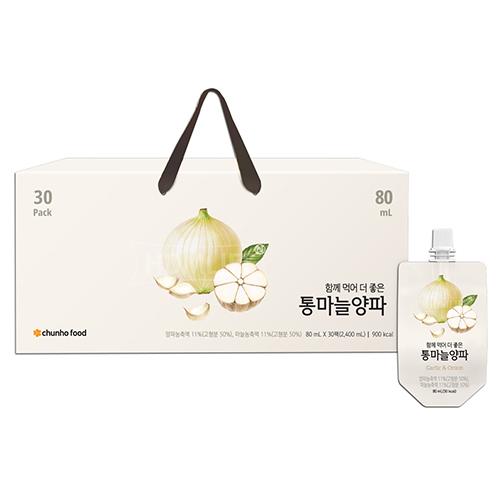 천호식품 양파즙 함께먹어 더 좋은  통마늘양파 (업체별도 무료배송)