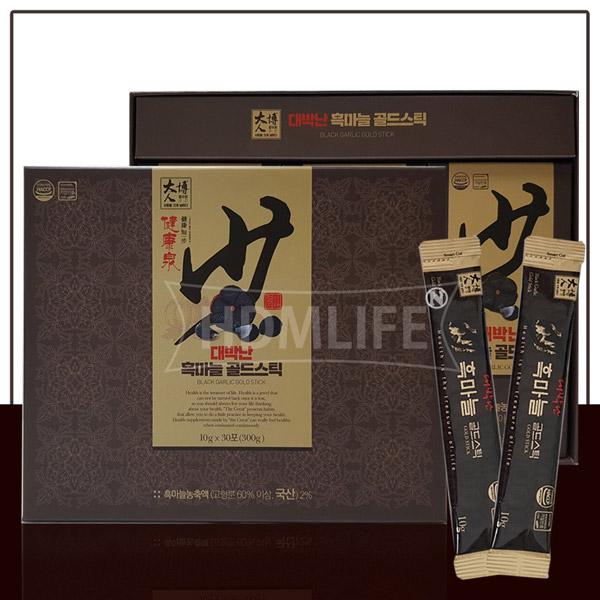 [대박난] 흑마늘 골드스틱 10g*30포 + 쇼핑백포함 (업체별도 무료배송)