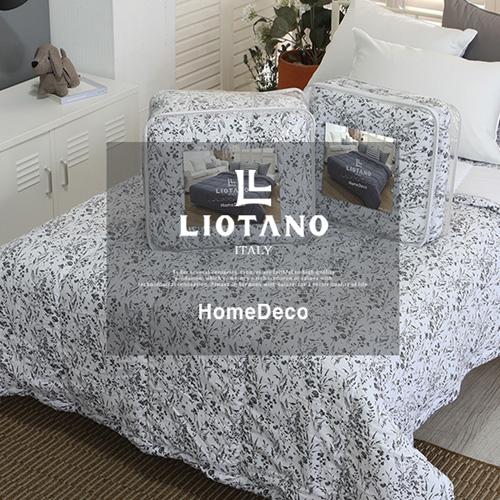 [LIOTANO] 리오타노 이태리 쉐도우 플라워 차렵이불(Q) LT-3117