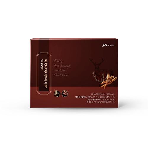 [중외제약]데일리 홍삼녹용 골드스틱 10ml x 30포