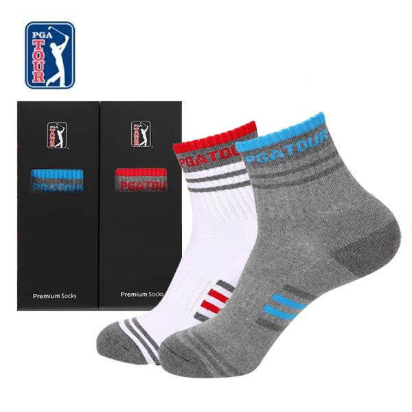 PGA TOUR 골프스포츠 양말(드라이쿨)남성용 1족